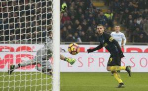 Con una doppietta di Icardi l'Inter supera la Lazio