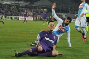 Bella gara al Franchi di Firenze tra Fiorentina e Napoli 3-3