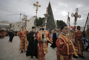 Processione degli ortodossi