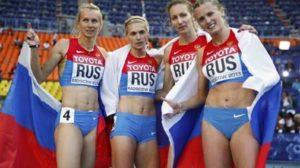 Atlete russe alle Olimpiadi di Rio