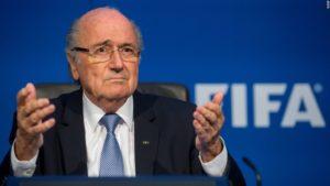 Joseph Blatter ex patron della Fifa