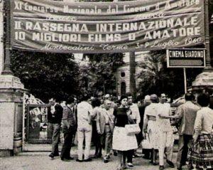 Una rara immagine del MISFF del 1960