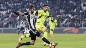 Vittoria in discesa della Juve contro il Bologna